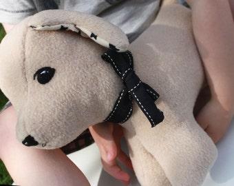 Puppy Dog Plush Sewing PATTERN Labrador