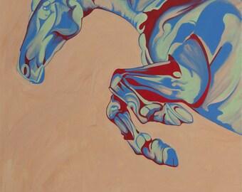 Equestrian Painting of Festinatio
