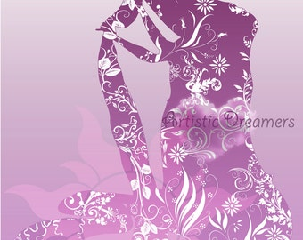 Princess Rapunzel Silhouette
