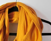 Mustard Infinity Scarf - Yellow Infinity Scarf - Men's Infinity Scarf - Women's Scarf - Gold Infinity Scarf - Mustard Cowl - Ocher Scarf