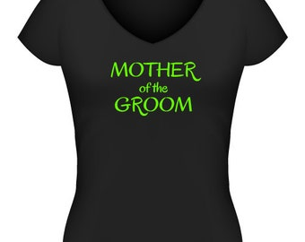 Mother of the Groom T-Shirt or Singlet