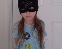 Child Size Batman Hat with Attached Mask