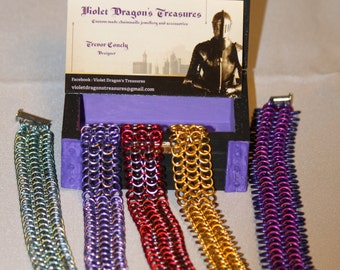 4-1 chainmaille bracelet