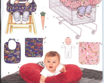 Simplicity 4225  UNCUT sewing pattern for Baby Accessories   ID430