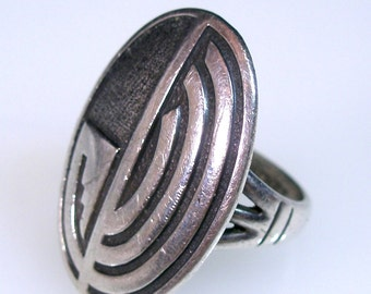 Sterling Hopi  Native American Ring