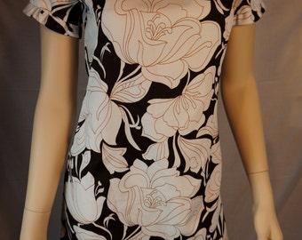 60s Flower Tunic/Dress