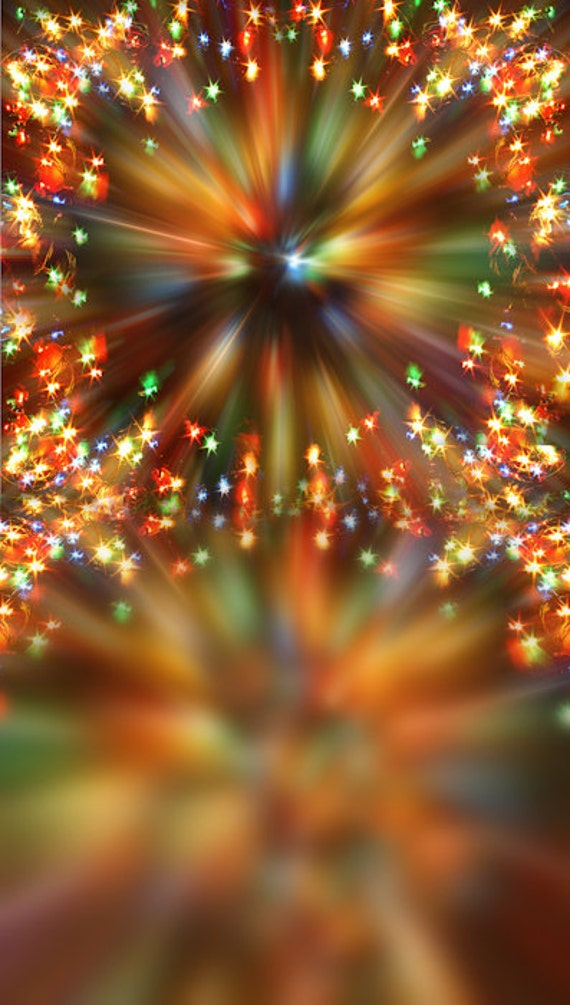 Items similar to Christmas Kaleidoscope Lights Photography Backdrop on Etsy