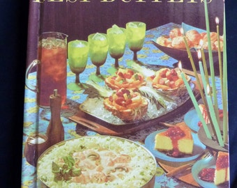 1963 Best Buffets - Better Homes and Gardens - Creative Cooking Library - Vintage Cookbook - Buffet Cook Book
