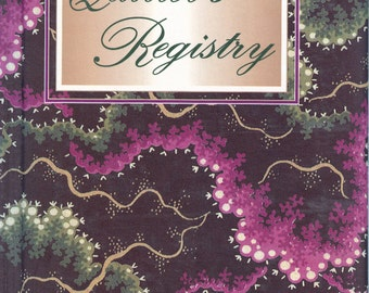 Quilter's Registry from the American Quilter's Society