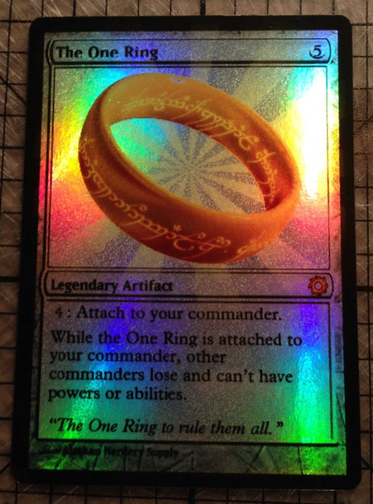Magic The Gathering Custom Foil Card The By