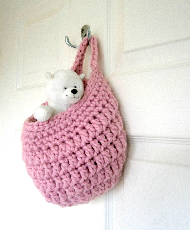 Crochet storage pattern crochet basket pattern storage for Crochet decorations for home