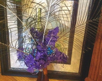 Peacock Centerpieces On Etsy A Global Handmade And