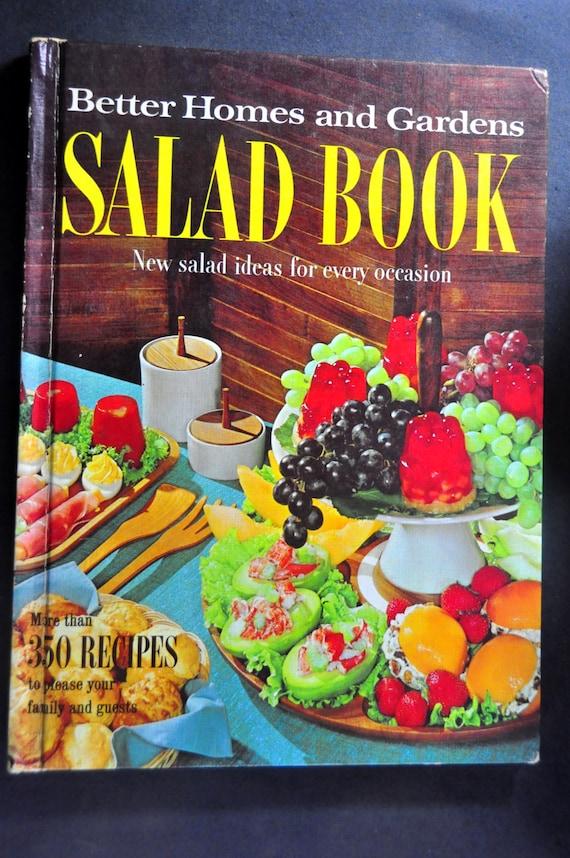 Old Cookbooks Better Homes Gardens Salad Book New Salad