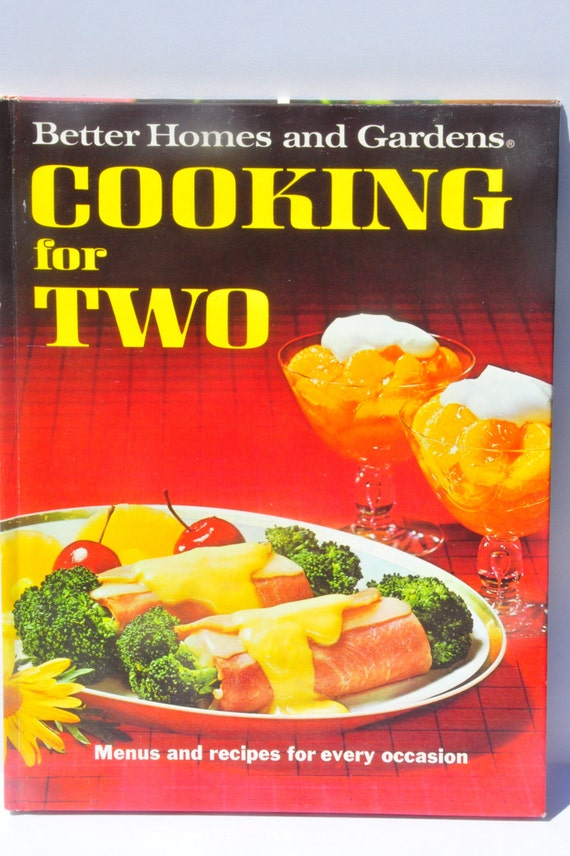 Better Homes And Garden Cookbook Cooking For Two Vintage