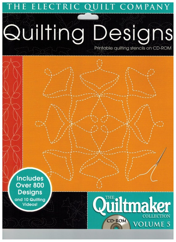 Quiltmaker Quilting Designs Cd : Quiltmaker s Volume 5 Quilting Designs from The Electric