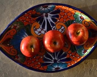 Talavera form seed tray