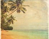 Vintage Beach Ocean and P...