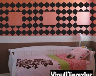 Wall Pattern Vinyl Wall Decal Or Car Sticker - Mvd031ET