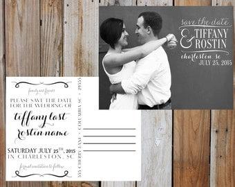 SAVE THE DATE Postcard - Digital - Customizable