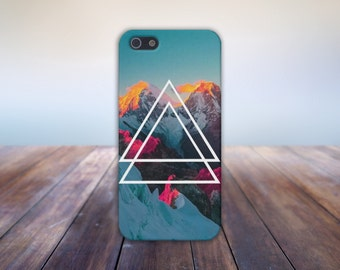 Sunset Snow Capped Mountains Case, Ski, iPhone 7, iPhone 7 Plus, Protective iPhone Case, Galaxy s8, Samsung Galaxy Case, Note 5, CASE ESCAPE