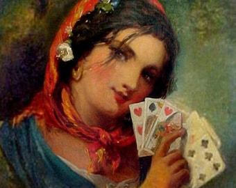 TAROT READING Tarot Card Reading Fortune Telling Fortune Tarot Gypsy Fortune Telling 1 Card Reading Tarot Divination for Insight & Guidance