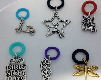 Vape (Vapor) Pen Charms -Your choice of (Wing,Star Fairy,Fairy,Scooter,Dragonfly & Girls night out) for vape pen, tank, or e cigs