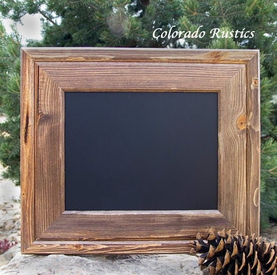 Rustic Chalkboard Framed Chalkboard Kitchen By ColoradoRustics