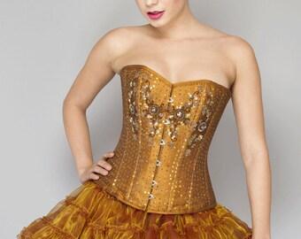 Sequin corset  Etsy