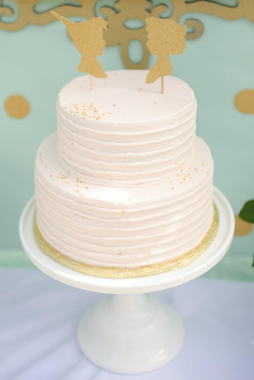 Tinkerbell Silhouette Cake Topper