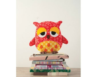 Wooksy the Owl Toy Sewing Pattern (803602)