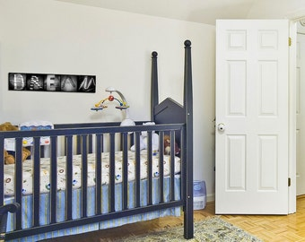 Dream Wall Art. Black and White Photography Sign Mounted and Ready to Hang: Bedroom/Office Decor. Baby's Room.