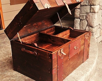 Horse and Hunting Tack Trunk