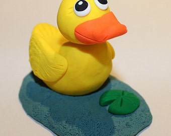 Polymer Clay Duck Etsy
