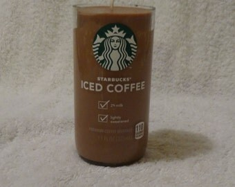 Starbucks Bottle Coffee Scented Candle - Amazing Coffee Smell!
