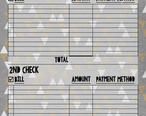 Aztec Bill Organizer by Check