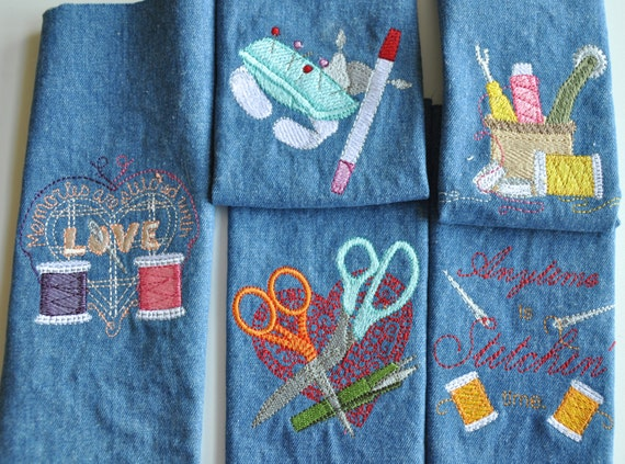 Items similar to sewing themed machine embroidery on