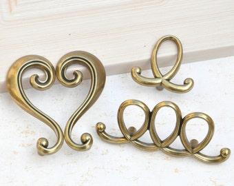 "Dresser Drawer Knobs Pulls Handles Decorative Dresser Knobs Pulls Unique Design Art Deco Cabinet Knobs Handles Pulls Knobs Hardware2.2"" 2.4"""