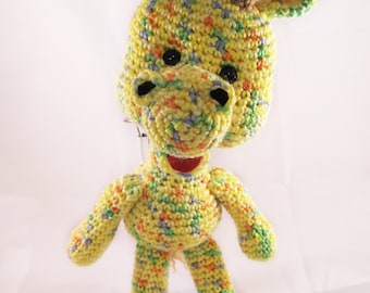 "Crocheted ""Gabby"" the Giraffe"