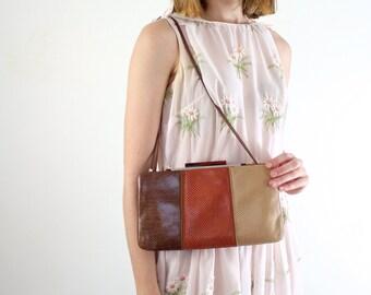 Designer Handbag • Snakeskin Bag • Designer Purse • Judith Leiber Purse • Snakeskin Purse • Vintage Couture Purse • Snakeskin Handbag