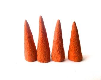 Red Cedar Incense Cones . handmade