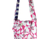 Flipped Bird reversible messenger bag, perfect for ipad, lots of pockets