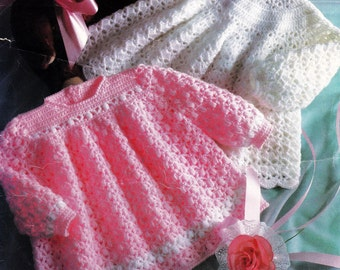 Crochet Baby Winter Dress Pattern : Crochet Kits & How To ? Etsy