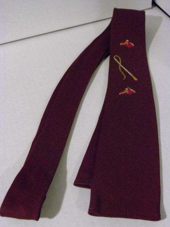 Vintage Skinny Tie 109