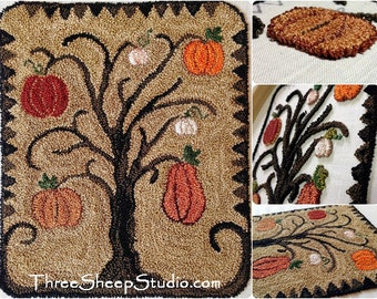Punch Needle Pattern - Jacks Awaiting - #PN523 - Needlepunch Embroidery