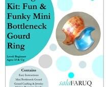 DIY Gourd Jewelry Making Kit