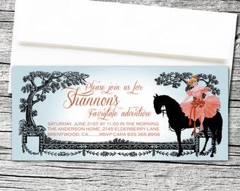 Equestrian Girl Invitations
