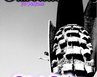 Purple Motocross Poster - Dirt Bike Diva