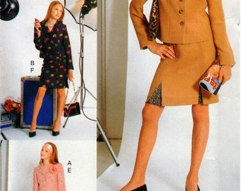 Vogue Girl Pattern 7413 Girls' Easy Jacket & Skirt 12-16 UNCUT