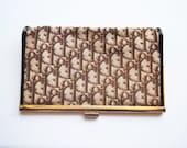 Christian Dior Purse - 70s, genuine, clutch, authentic Dior, designer, tapestry, monogram, FREE WORLDWIDE POSTAGE