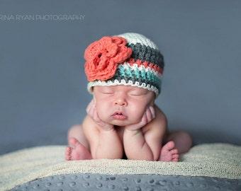 newborn girl hat, baby girl hat, baby hat, newborn girls hat, crochet baby hat, baby girls hat, crochet newborn hat, baby girl winter hat